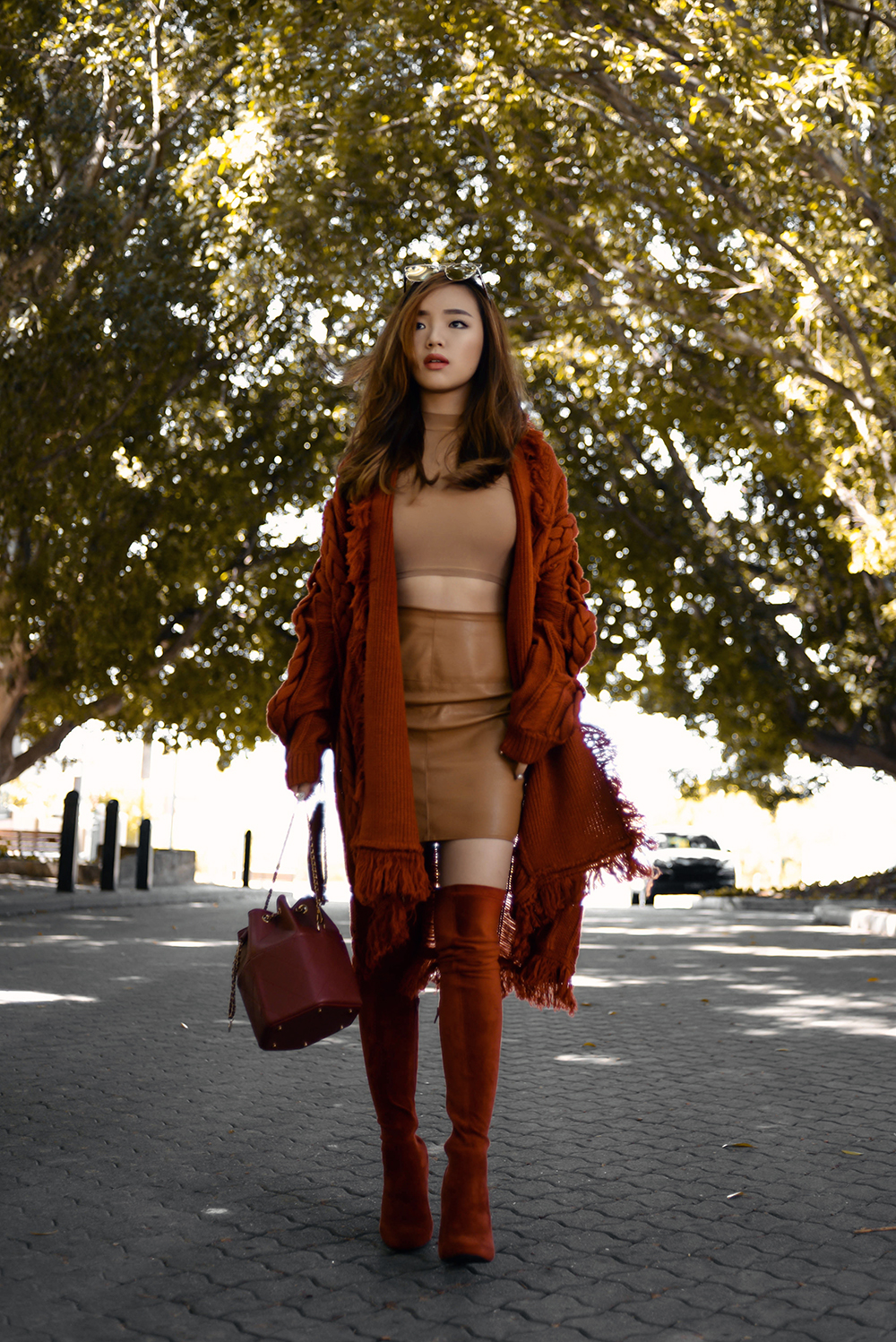 Rust Red Pale Division By Willabelle Ong Singapore 39 S Fashion Beauty And Travel Blogger