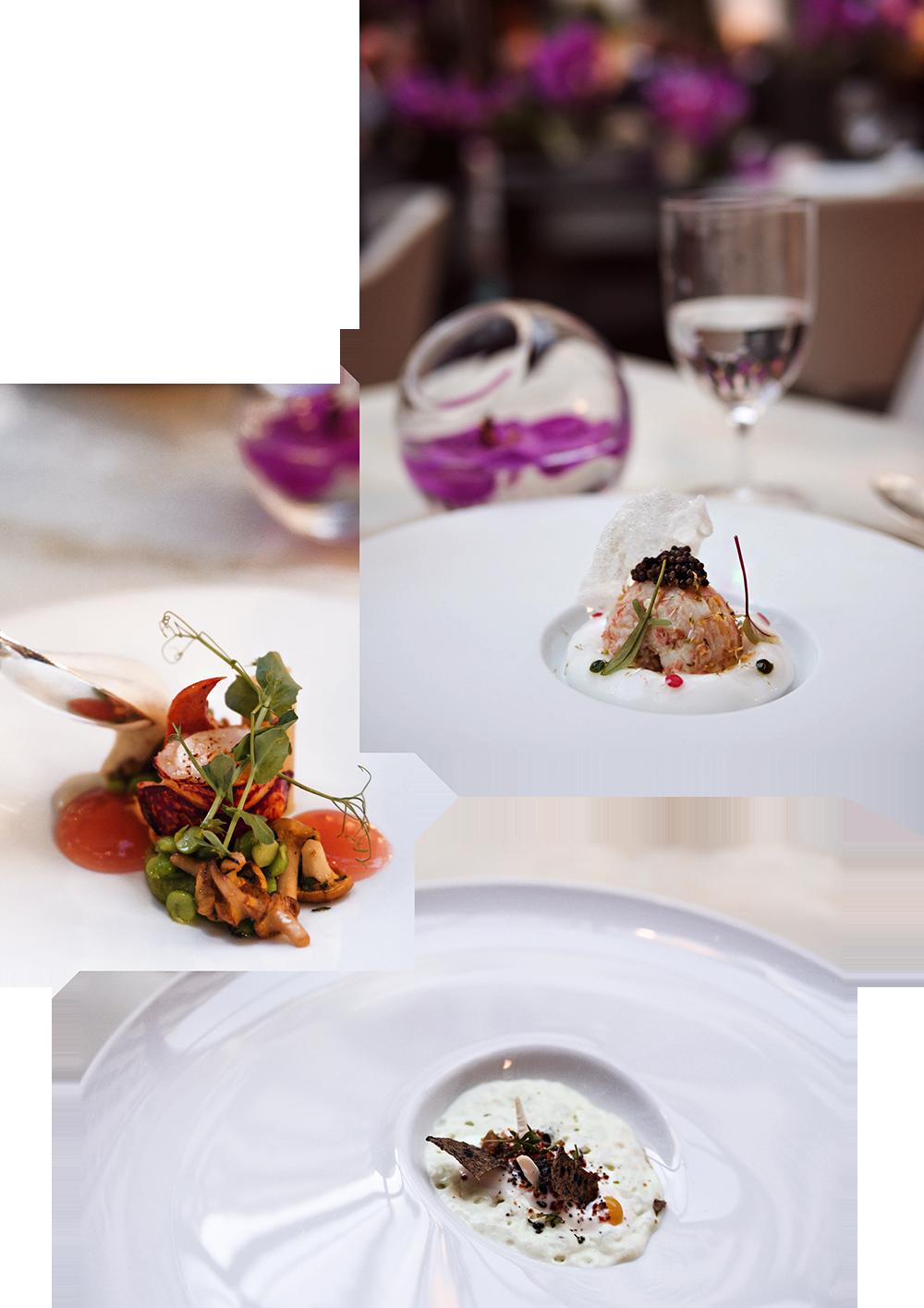 luxury-hotel-four-seasons-paris-lorangerie-restaurant-food