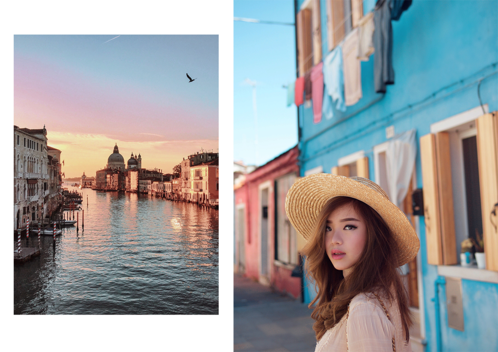 willabelle-ong-paledivision-street-style-fashion-travel-lifestyle-blog-australia-singapore-blogger-venice-italy-burano-ganni-long-sleeve-lace-high-neck-mini-dress-chanel-bag-boater-hat-4