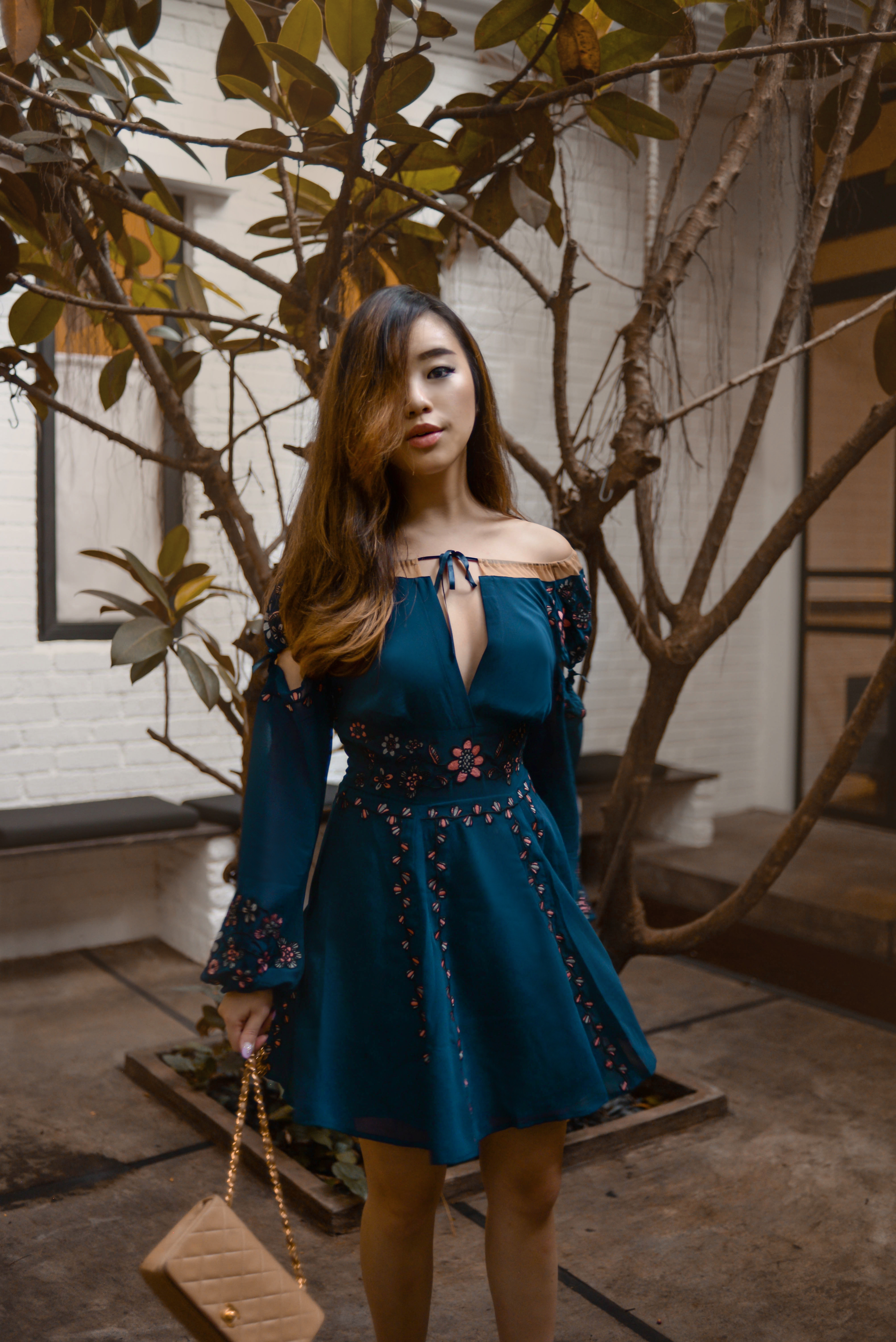 willabelle-ong-paledivision-street-style-fashion-travel-lifestyle-blog-singapore-australia-outfit-editorial-revolve-forloveandlemons-niccola-mini-dress-navy-floral-sheer-2
