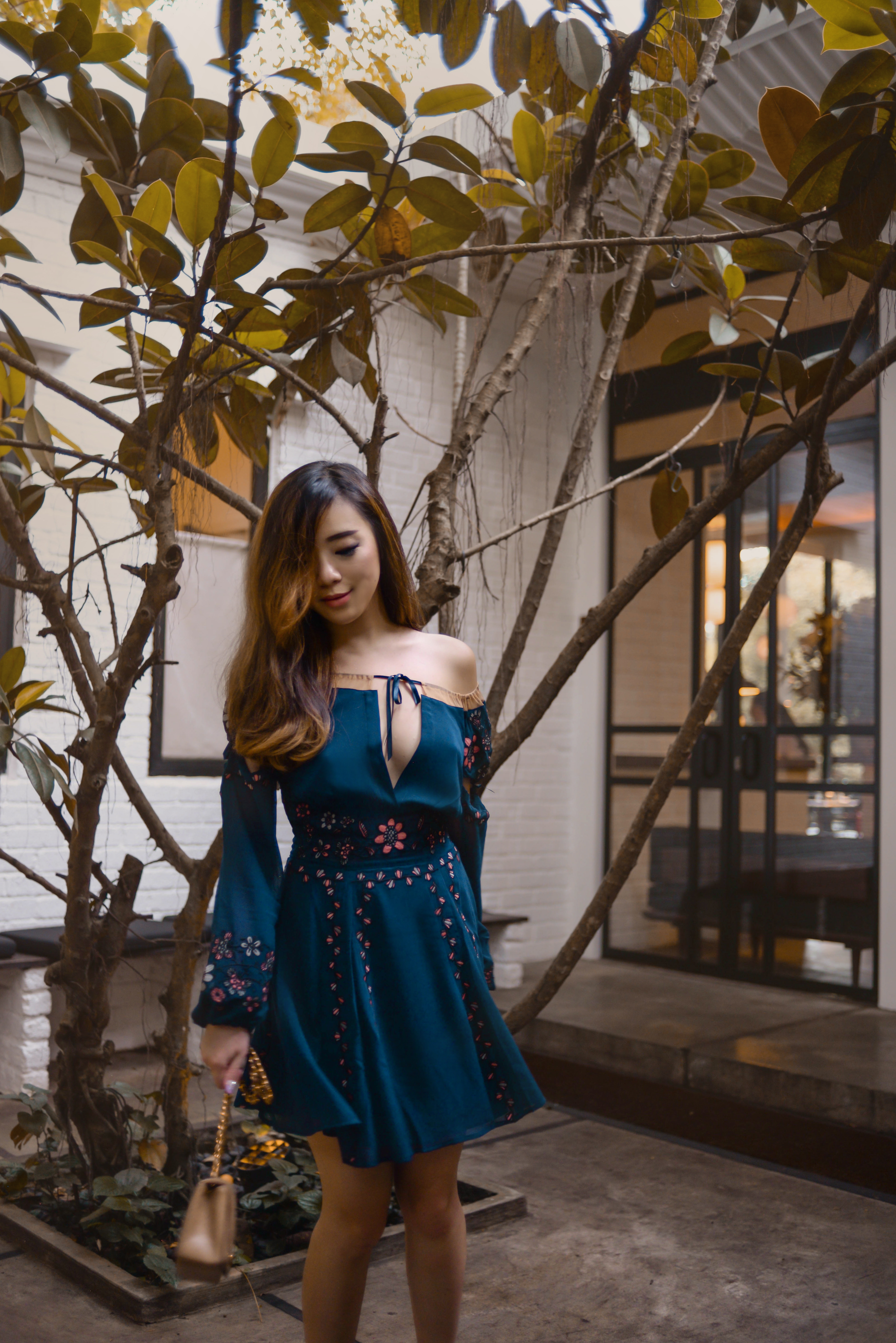 willabelle-ong-paledivision-street-style-fashion-travel-lifestyle-blog-singapore-australia-outfit-editorial-revolve-forloveandlemons-niccola-mini-dress-navy-floral-sheer-3