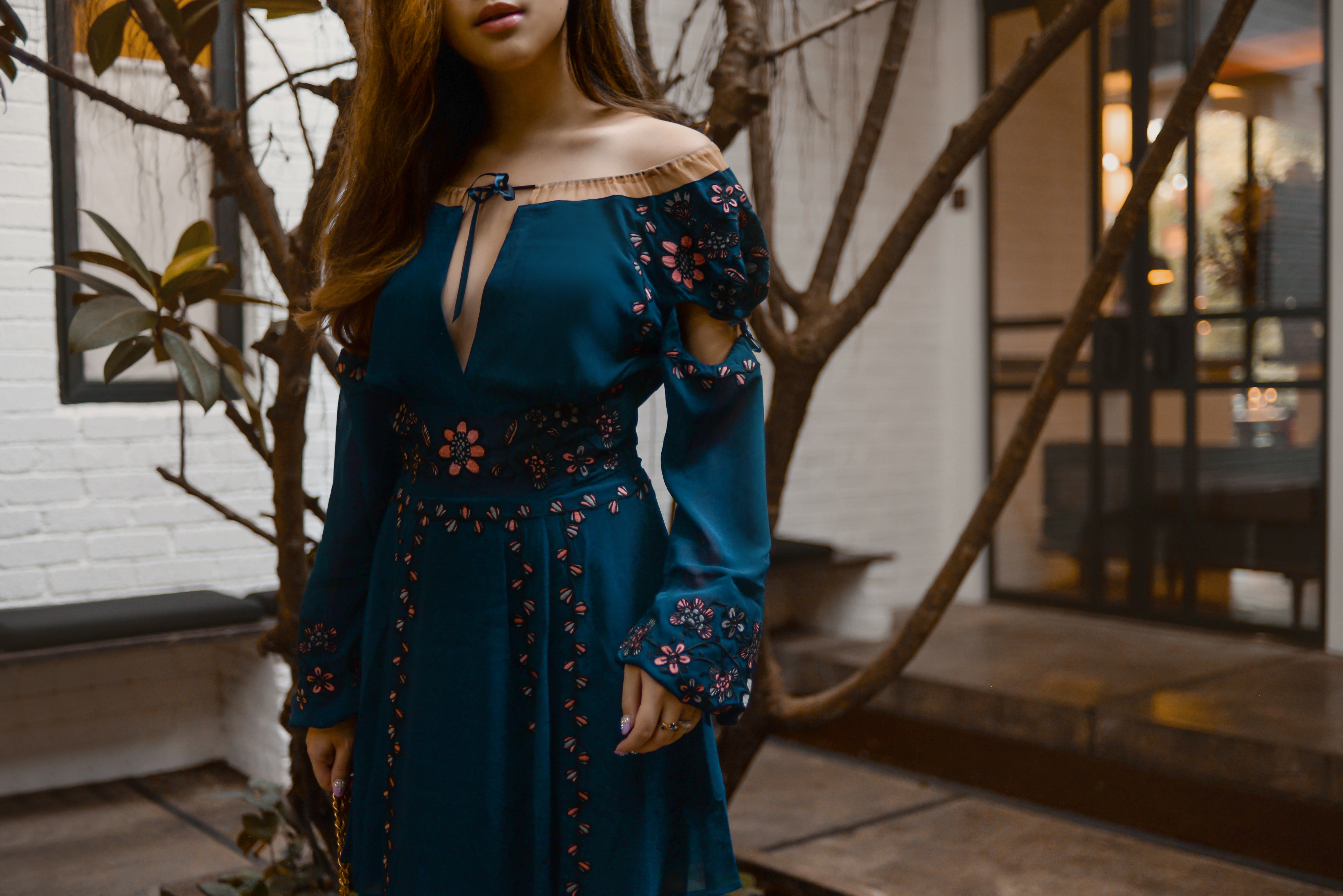 willabelle-ong-paledivision-street-style-fashion-travel-lifestyle-blog-singapore-australia-outfit-editorial-revolve-forloveandlemons-niccola-mini-dress-navy-floral-sheer