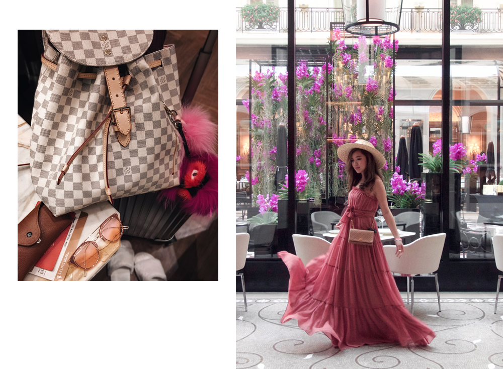 willabelle-ong-paledivision-street-style-fashion-travel-lifestyle-blog-australia-singapore-blogger-paris-france-eiffel-tower-jill-jill-stuart-chiffon-dress-chanel-bag-boater-hat-3