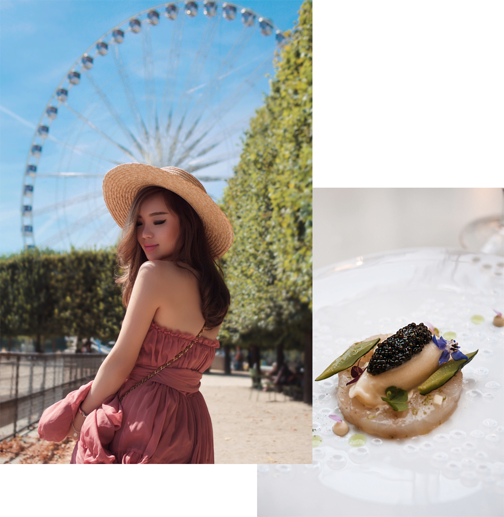 willabelle-ong-paledivision-street-style-fashion-travel-lifestyle-blog-australia-singapore-blogger-paris-france-eiffel-tower-jill-jill-stuart-chiffon-dress-chanel-bag-boater-hat-4
