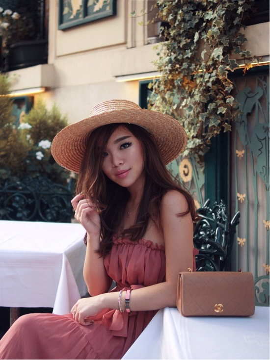 willabelle-ong-paledivision-street-style-fashion-travel-lifestyle-blog-australia-singapore-blogger-france-paris-jill-jill-stuart-chiffon-dress-chanel