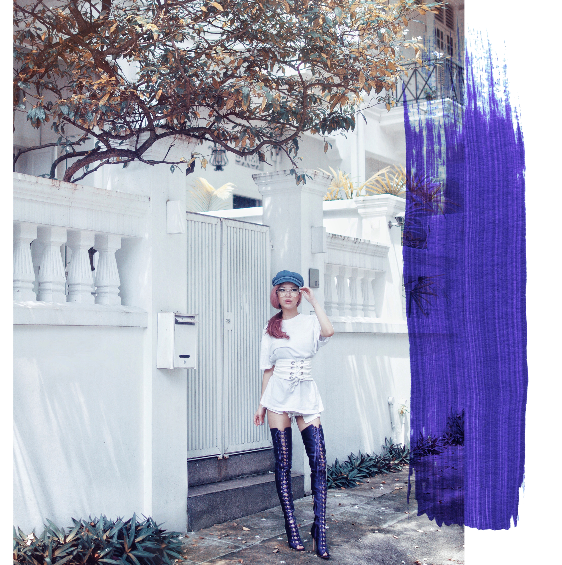 Sky Thigh High Pale Division By Willabelle Ong Singapore 39 S Fashion Beauty And Travel Blogger