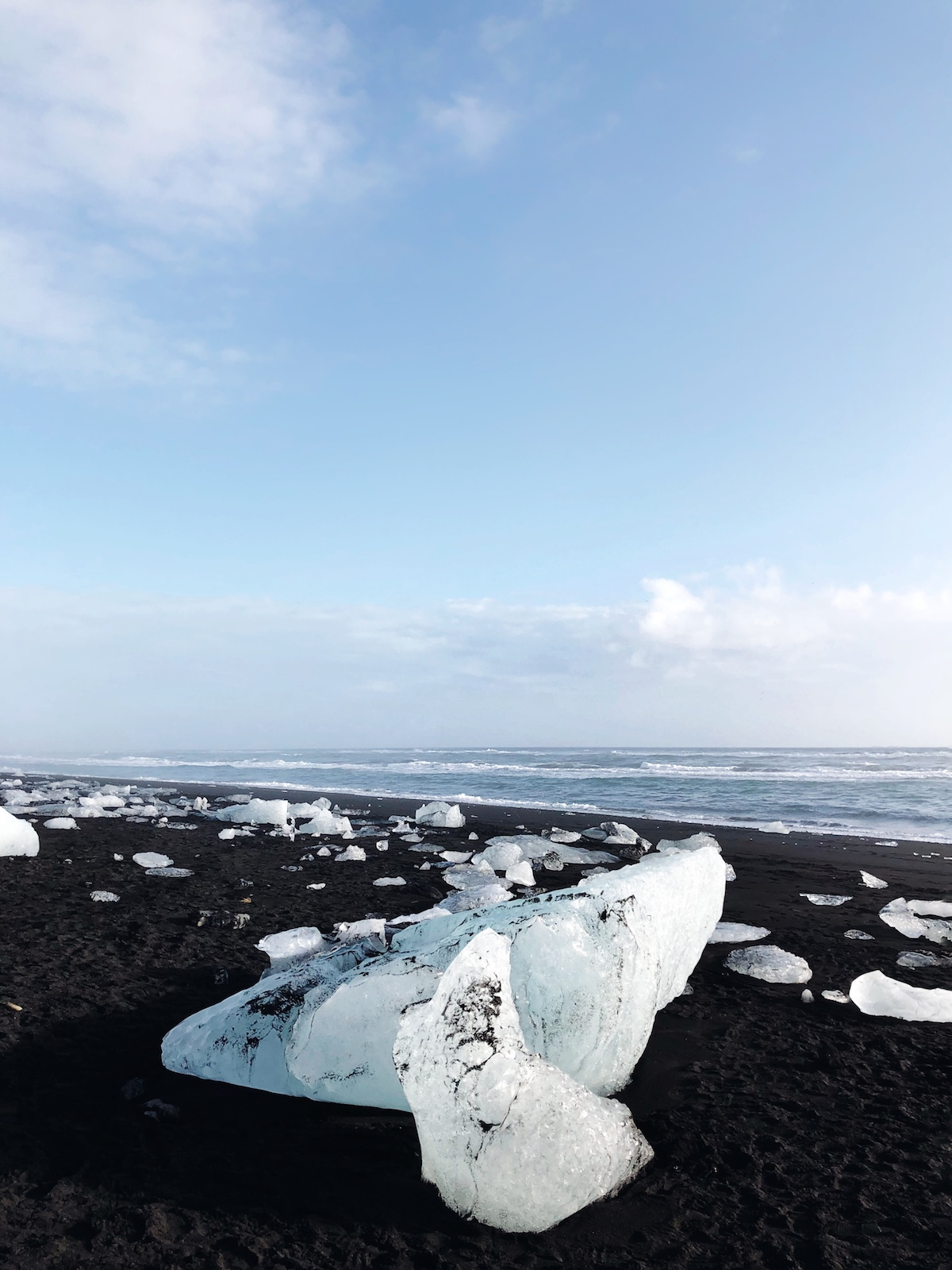Diamond Beach, Iceland by Willabelle Ong