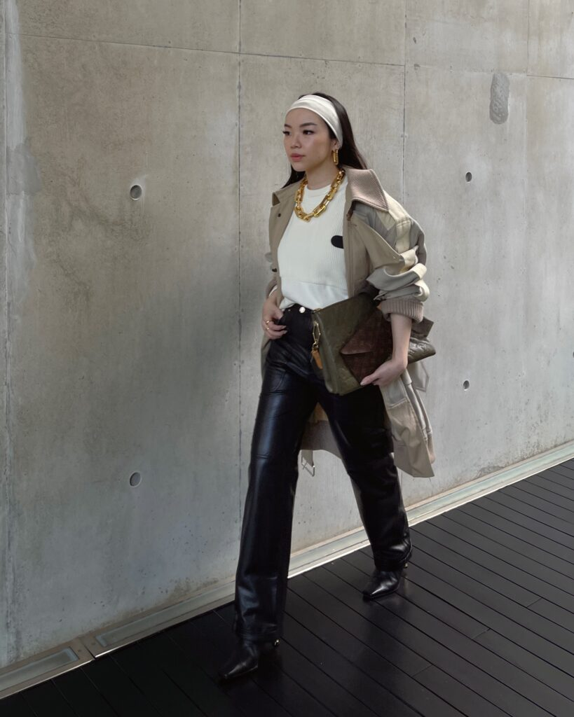 Fashion Influencer, Blogger and Digital Creative Willabelle Ong @willamazing dressed in Louis Vuitton LVSS21 for their Women's Spring Summer 2021 Spin-off Show in Singapore